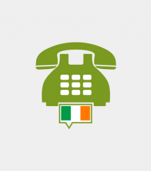 Ireland toll-free number