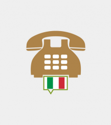 Italy toll-free number