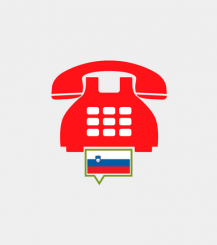 Slovenia toll-free number