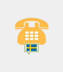 Sweden toll-free number
