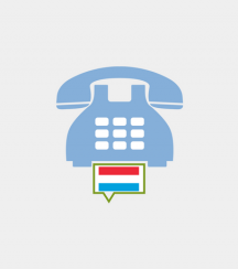 Luxembourg toll-free number