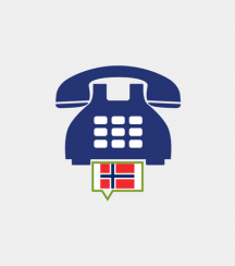 Norway toll-free number